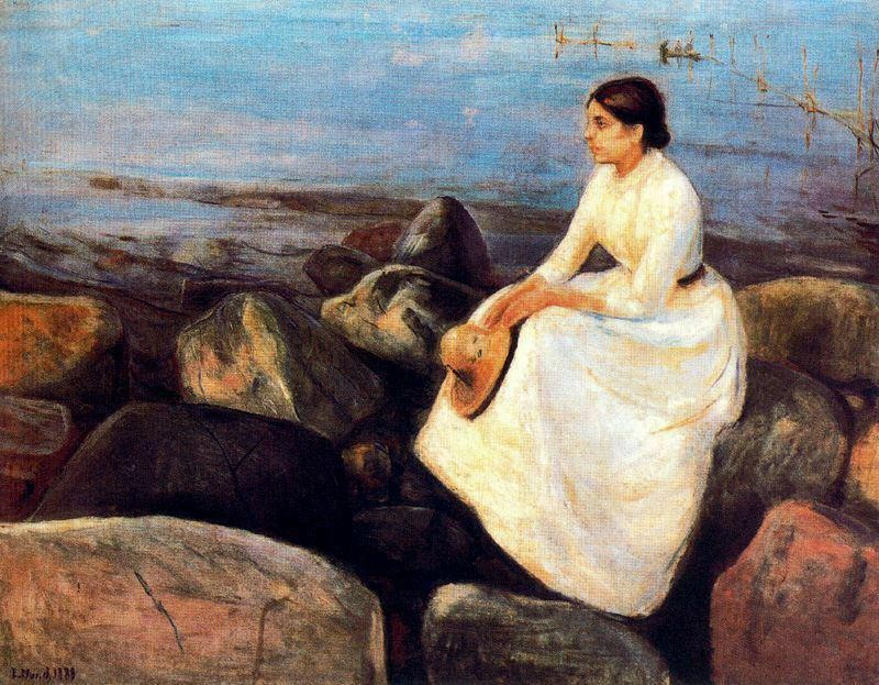 Summer Night (Inger on the Shore), 1889.